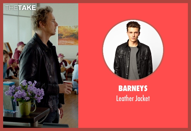 BARNEYS black jacket from This Is Where I Leave You seen with Dax Shepard (Wade Boulanger)