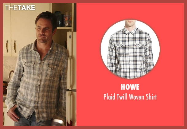 Howe gray shirt from Nashville seen with Deacon Claybourne  (Charles Esten)