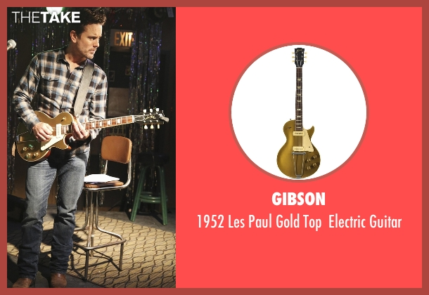 Gibson guitar from Nashville seen with Deacon Claybourne  (Charles Esten)
