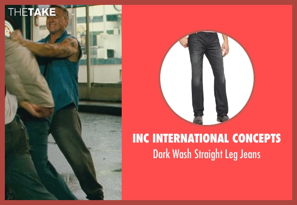 INC International Concepts black jeans from Kick-Ass seen with Dean Copkov (Diner Fight Guy #3)