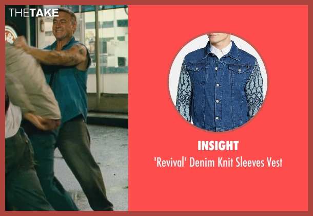 Insight blue vest from Kick-Ass seen with Dean Copkov (Diner Fight Guy #3)