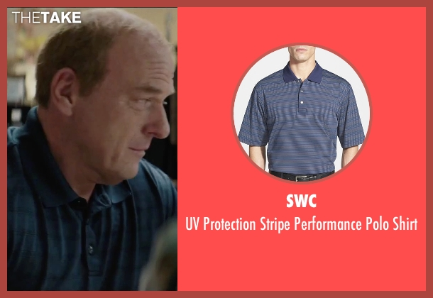 SWC blue shirt from Secret in Their Eyes seen with Dean Norris (Bumpy)