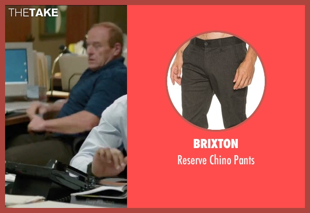 Brixton gray pants from Secret in Their Eyes seen with Dean Norris (Bumpy)