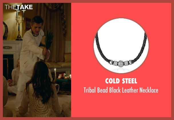Cold Steel black necklace from While We're Young seen with Dean Wareham (Shaman)