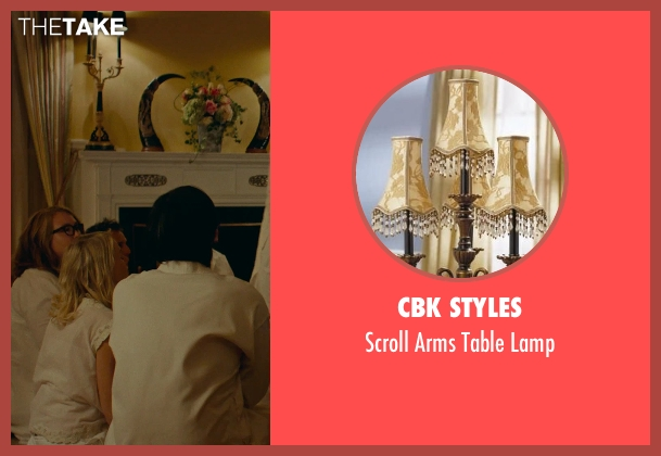 CBK Styles lamp from While We're Young seen with Dean Wareham (Shaman)