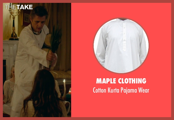 Maple Clothing wear from While We're Young seen with Dean Wareham (Shaman)