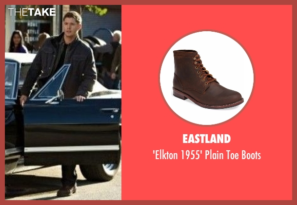 Eastland brown boots from Supernatural seen with Dean Winchester (Jensen Ackles)