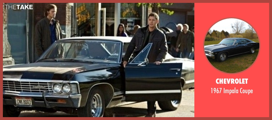 Chevrolet coupe from Supernatural seen with Dean Winchester (Jensen Ackles)