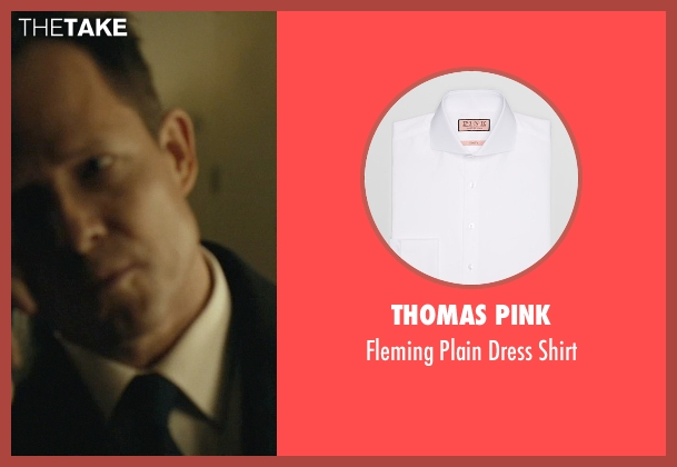 Thomas Pink white shirt from John Wick seen with Dean Winters (Avi)