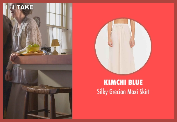 Kimchi Blue beige skirt from The Visit seen with Deanna Dunagan (Unknown Character)