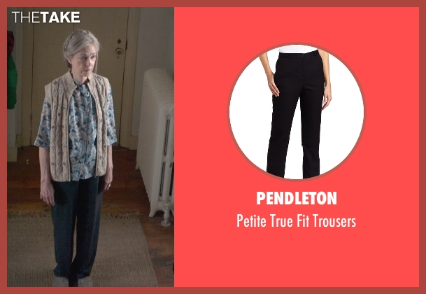 Pendleton black trousers from The Visit seen with Deanna Dunagan (Unknown Character)