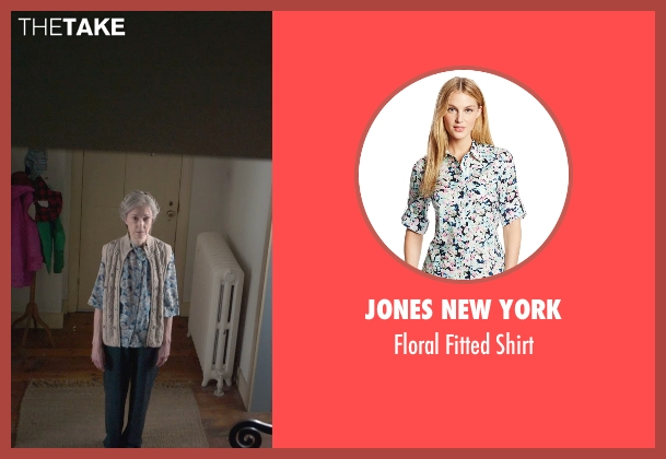 Jones New York blue shirt from The Visit seen with Deanna Dunagan (Unknown Character)