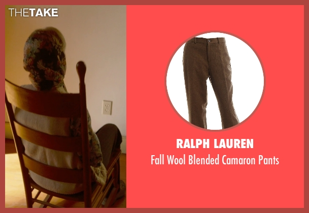 Ralph Lauren brown pants from The Visit seen with Deanna Dunagan (Unknown Character)