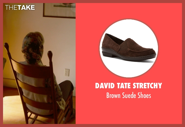 David Tate Stretchy brown shoes from The Visit seen with Deanna Dunagan (Unknown Character)