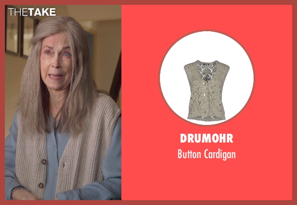 Drumohr gray cardigan from The Visit seen with Deanna Dunagan (Unknown Character)