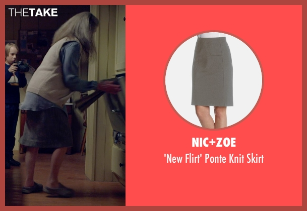 Nic+Zoe gray skirt from The Visit seen with Deanna Dunagan (Unknown Character)