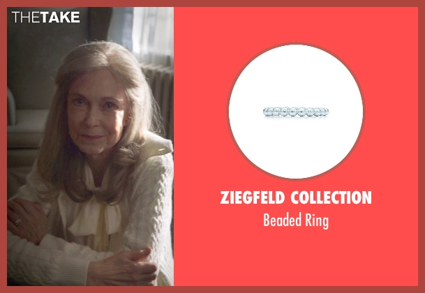 Ziegfeld Collection ring from The Visit seen with Deanna Dunagan (Unknown Character)