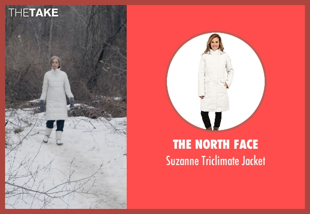 The North Face white jacket from The Visit seen with Deanna Dunagan (Unknown Character)