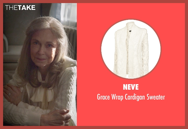 Neve white sweater from The Visit seen with Deanna Dunagan (Unknown Character)