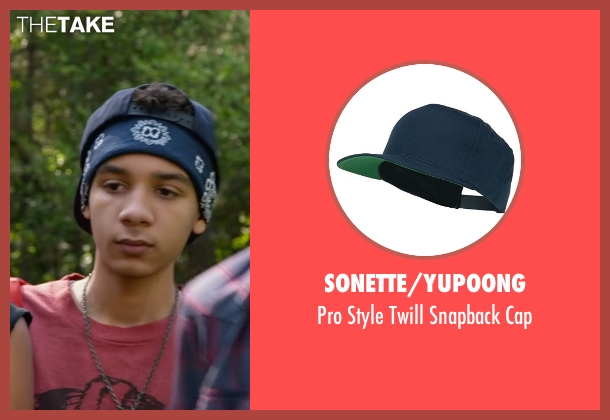 Sonette/Yupoong blue cap from Max seen with Dejon LaQuake (Chuy)