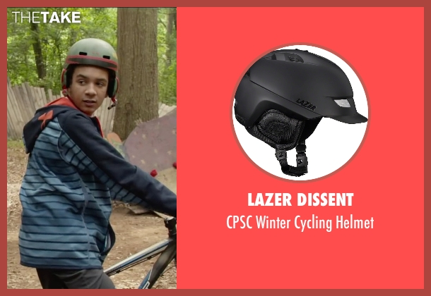 Lazer Dissent helmet from Max seen with Dejon LaQuake (Chuy)
