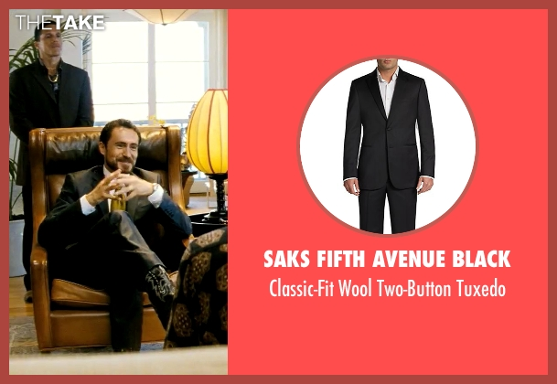 Saks Fifth Avenue Black black tuxedo from Savages seen with Demian Bichir (Alex)