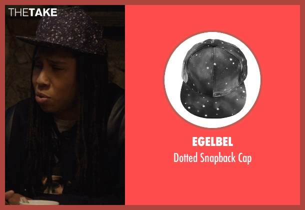 Egelbel black cap from Master of None seen with Denise (Lena Waithe)