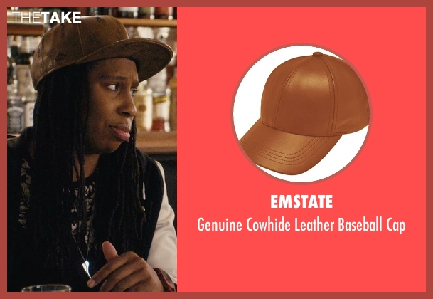Emstate brown cap from Master of None seen with Denise (Lena Waithe)