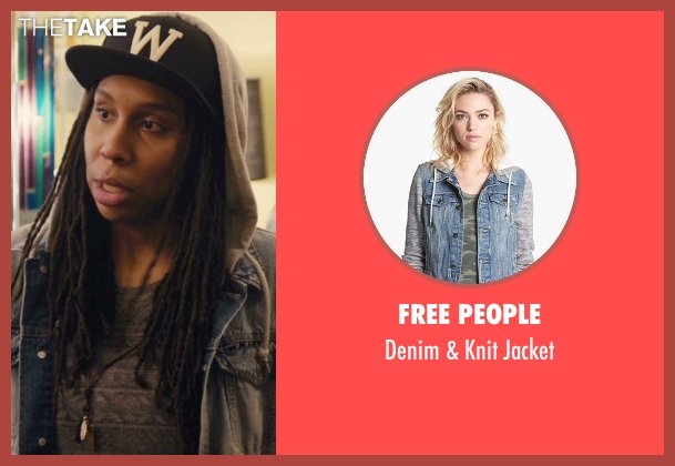 Free People jacket from Master of None seen with Denise (Lena Waithe)