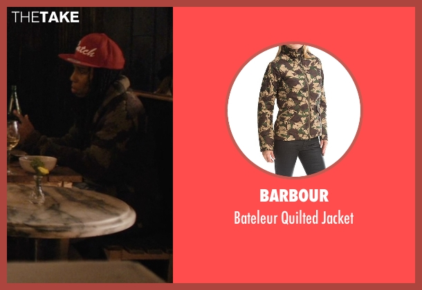 Barbour jacket from Master of None seen with Denise (Lena Waithe)