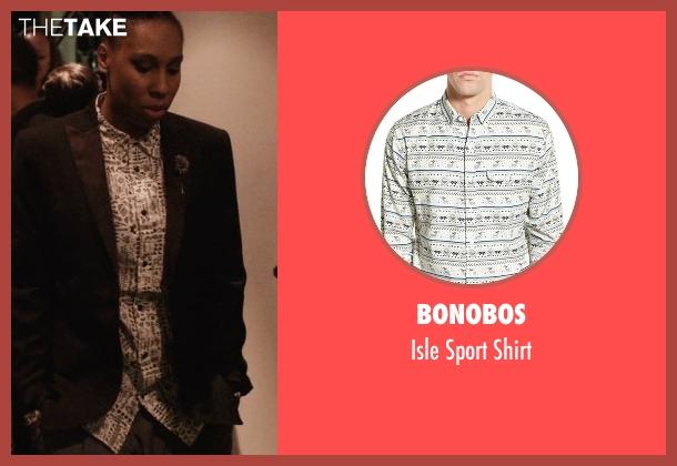 Bonobos white shirt from Master of None seen with Denise (Lena Waithe)
