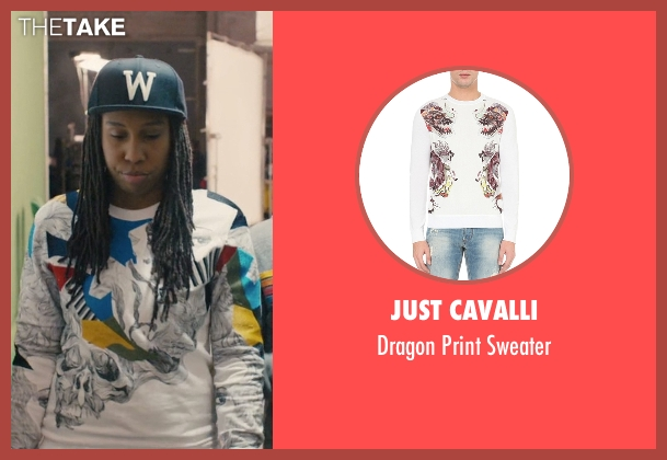 Just Cavalli white sweater from Master of None seen with Denise (Lena Waithe)