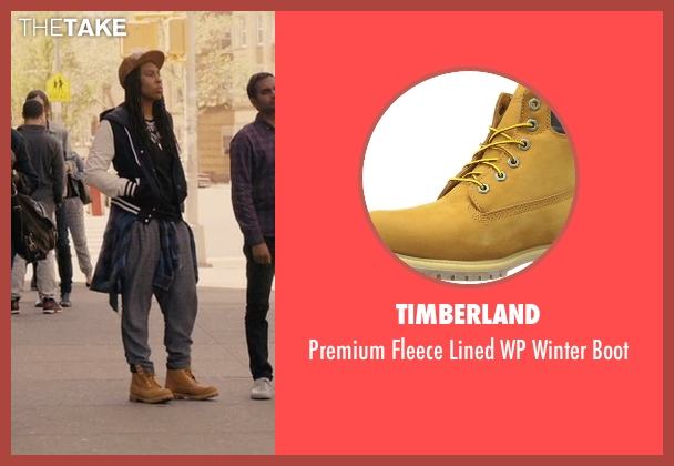 Timberland yellow boot from Master of None seen with Denise (Lena Waithe)