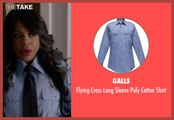 Galls blue shirt from Scream Queens seen with Denise (Niecy Nash)