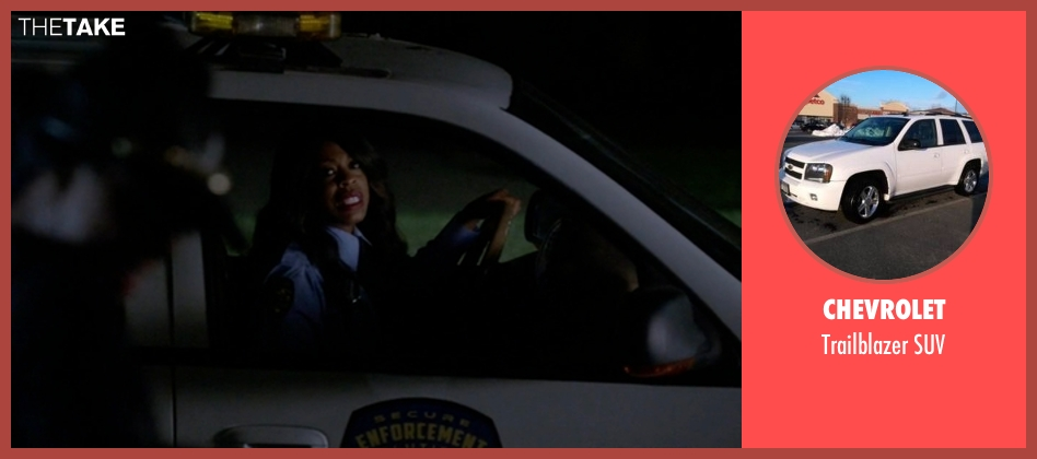 Chevrolet suv from Scream Queens seen with Denise (Niecy Nash)