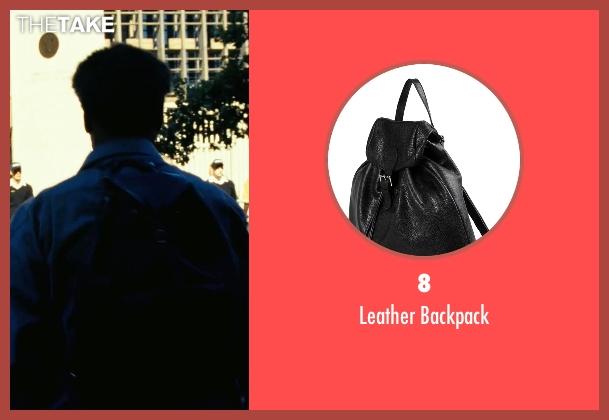 8 black backpack from Safe House seen with Denzel Washington (Tobin Frost)