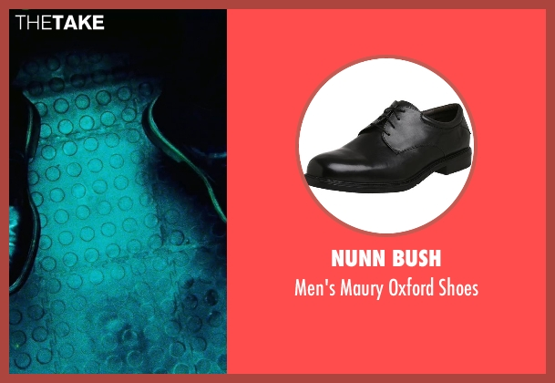 Nunn Bush black shoes from Safe House seen with Denzel Washington (Tobin Frost)