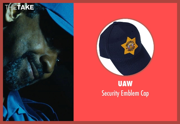 UAW blue cap from Safe House seen with Denzel Washington (Tobin Frost)