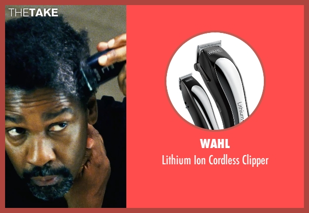 Wahl clipper from Safe House seen with Denzel Washington (Tobin Frost)