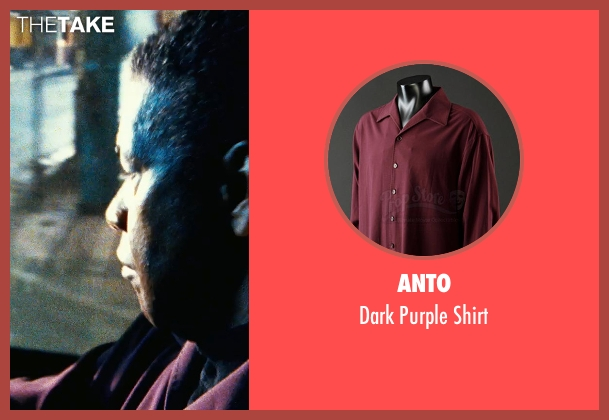 Anto purple shirt from Safe House seen with Denzel Washington (Tobin Frost)