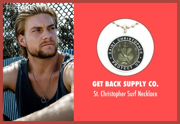 Get Back Supply Co. black necklace from Animal Kingdom seen with Deran Cody (Jake Weary)