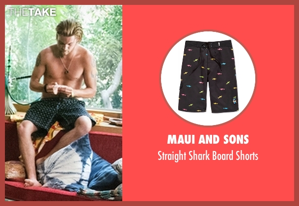 Maui And Sons black shorts from Animal Kingdom seen with Deran Cody (Jake Weary)