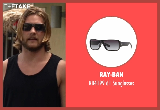 Ray-Ban black sunglasses from Animal Kingdom seen with Deran Cody (Jake Weary)