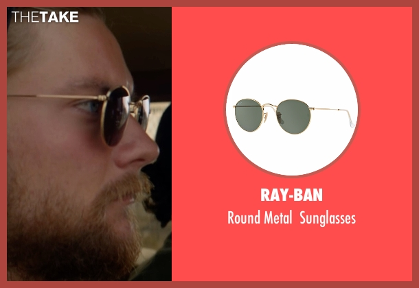 Ray-ban gold sunglasses from Animal Kingdom seen with Deran Cody (Jake Weary)