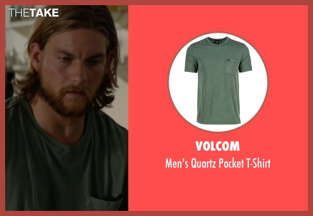 Volcom green t-shirt from Animal Kingdom seen with Deran Cody (Jake Weary)
