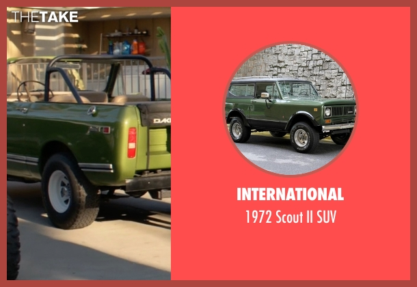 International suv from Animal Kingdom seen with Deran Cody (Jake Weary)
