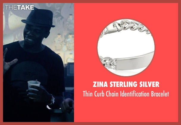 Zina Sterling Silver silver bracelet from Self/Less seen with Derek Luke (Anton)