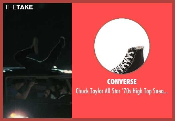 Converse black sneakers from Hall Pass seen with Derek Waters (Brent)