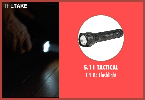 5.11 Tactical black flashlight from Insidious: Chapter 3 seen with Dermot Mulroney (Sean Brenner)
