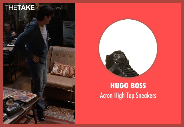 Hugo Boss black sneakers from Insidious: Chapter 3 seen with Dermot Mulroney (Sean Brenner)